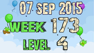 Angry Birds Friends Tournament level 4 Week 173