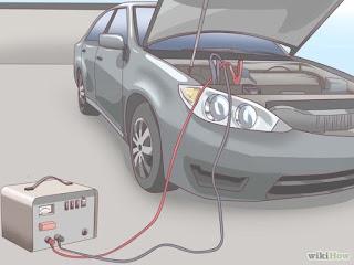 كيفية شحن بطارية السيارة من كهرباء المنزل
