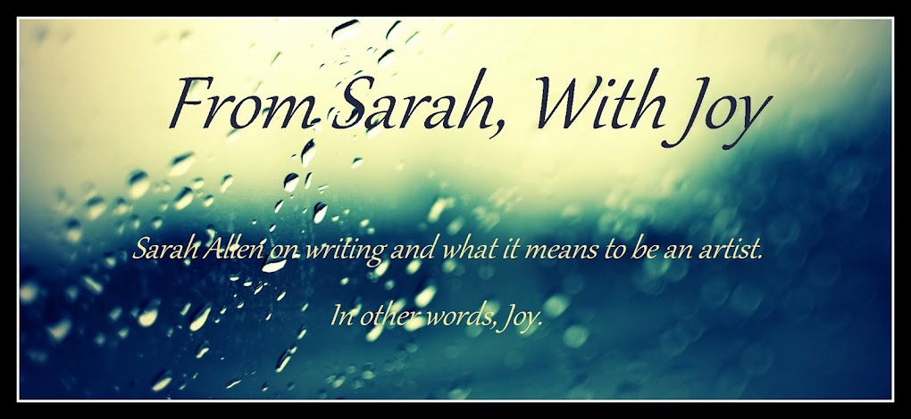 From Sarah, With Joy