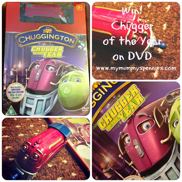 win chugger of the year on DVD chuggington