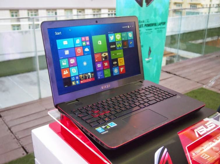 ASUS Philippines Announced Gaming Laptop ROG G551 for Php69,995