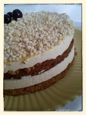 torta al miglio soffiato