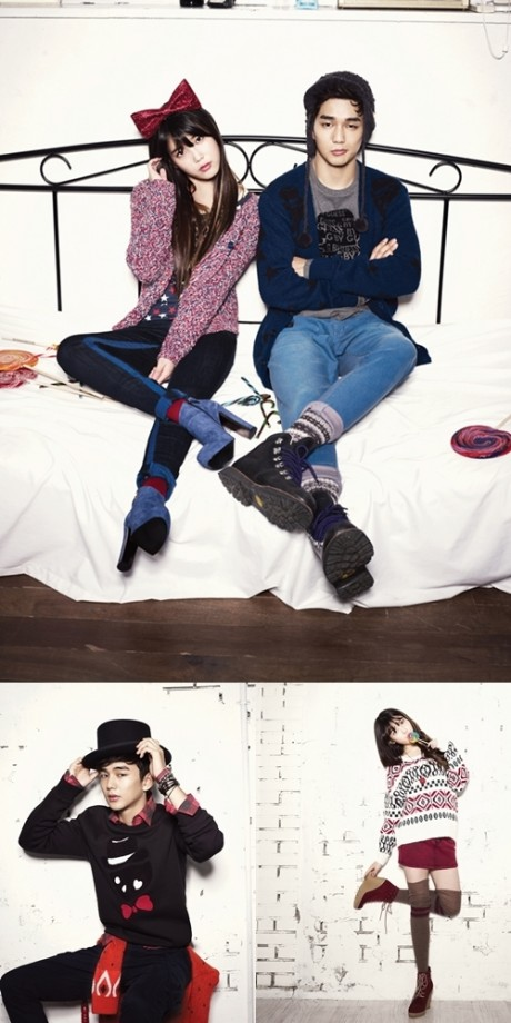 Iu and yoo seung ho pose for g by guess daily k pop news iu and yoo seung ho pose for g by guess thecheapjerseys Images