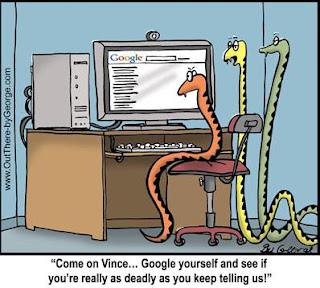 3 Snakes on Google researching snake