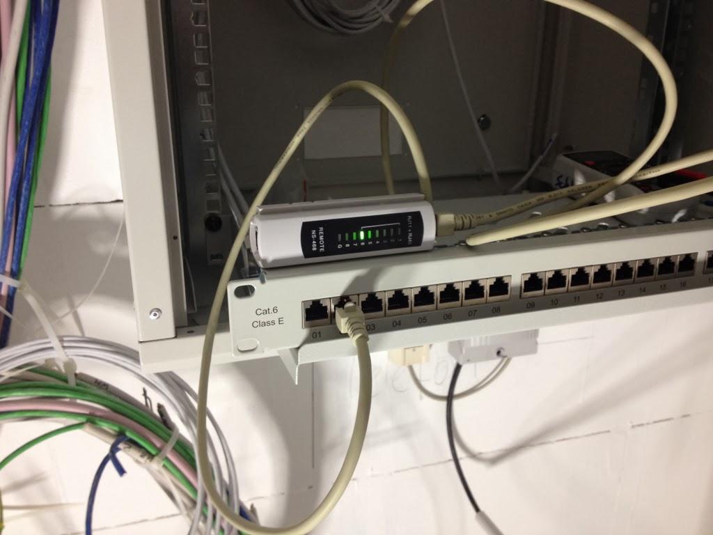HuM\'s Baublog: Tag 147: Netzwerkverkabelung