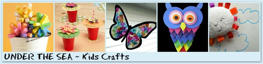 Under the Sea ~ KIDS ~ Crafts
