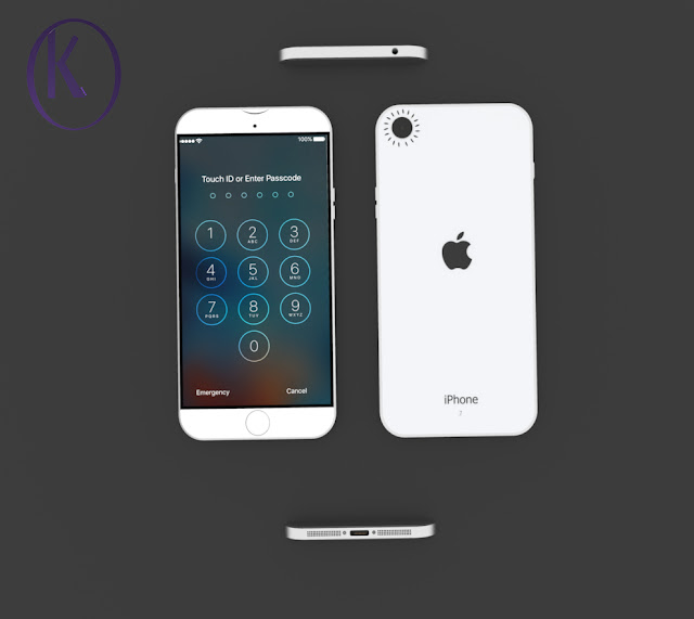 iPhone 7 With iOS 10 Concept By Kiarash Kia