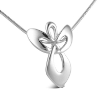 Sterling Silver Guardian Angel Gift Pendant