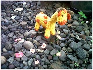Jerapah Rajut, Crochet Giraffe, Amigurumi Giraffe