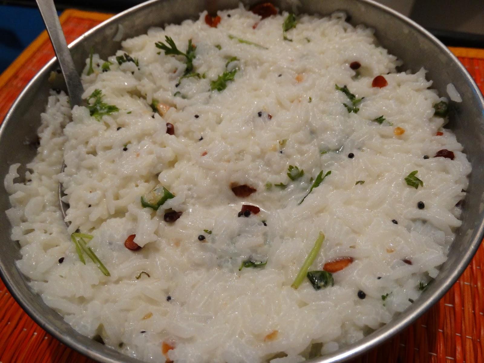 rainingfood.com curd rice
