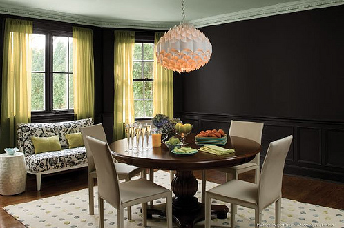 Dark dining room veranda interior young professional for your that is all the e mail said that brooke from blueprint bliss sent me followed by these images malvernweather Image collections
