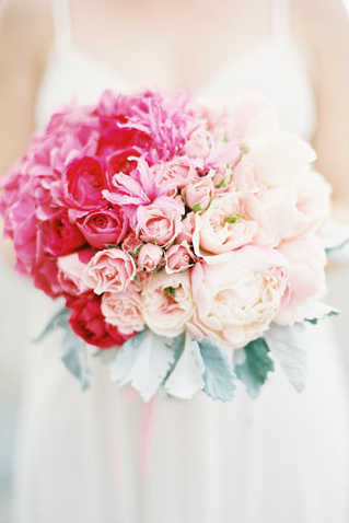 Beautiful Ombre Wedding Bouquet From Mile High Bride