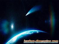Penampakan Komet Tercantik