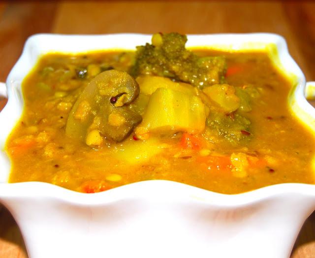 veggie sambar