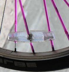 trik dan tips pemasangan sedotan penghias ruji ban sepeda