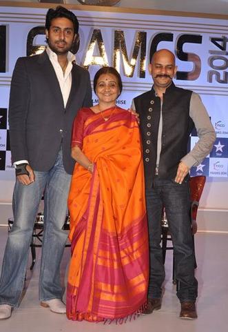 Abhishek Bachchan graces FICCI FRAMES 2014