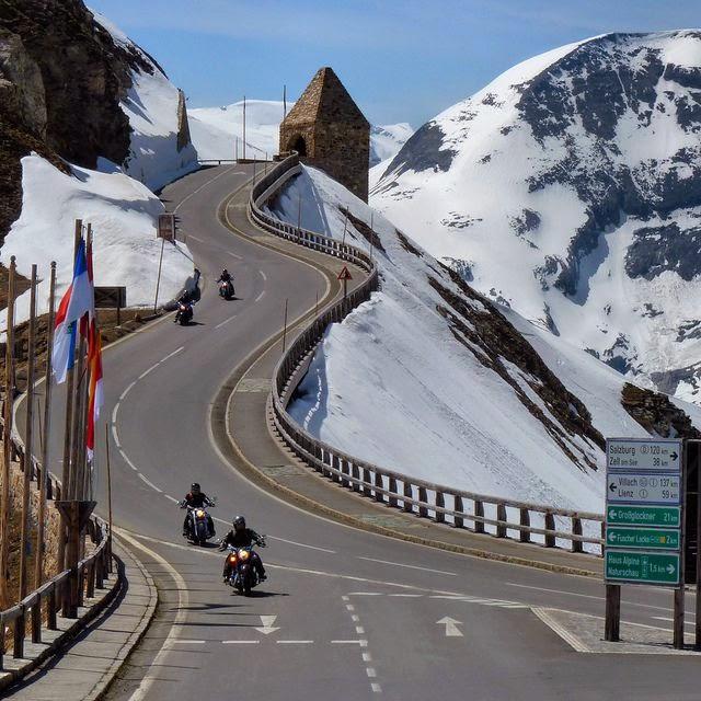 Grossglockner Alpine Road,Austria: