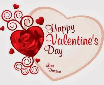Kartu Ucapan Valentine Day 2014 6