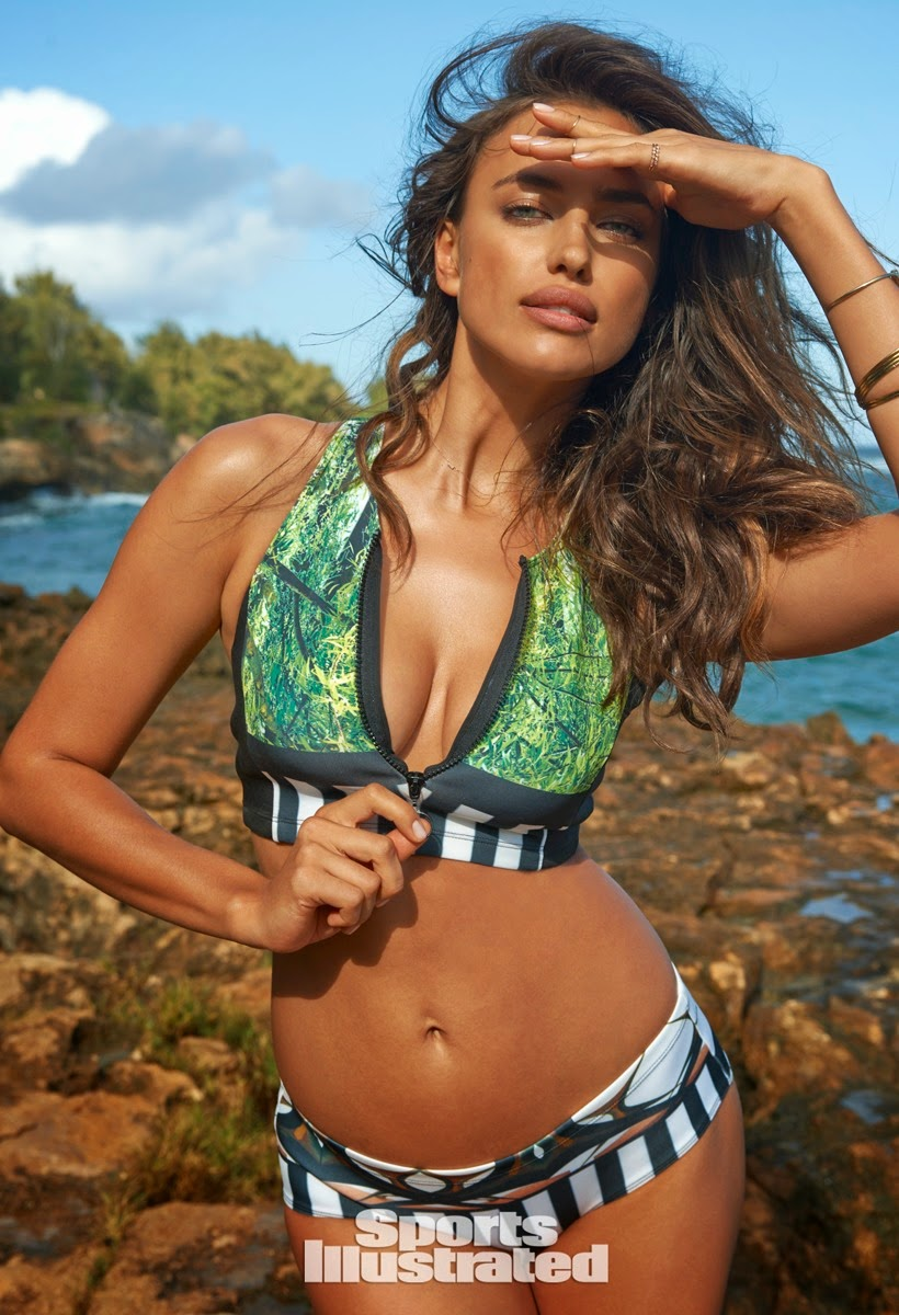 'Paradise Found' Irina Shayk sizzles for the Sports Illustrated Swim 2015 edition