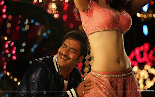 Hot Tamannaah and Ajay in Dhoka Dhoka Song