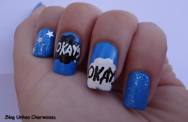 nail art, Nail Art inspirada em A Culpa é das Estrelas, A Culpa é das Estrelas , Nail art a culpa é das estrelas, unhas a culpa é das estrelas, tutorial, tutorial unhas a culpa é das estrelas
