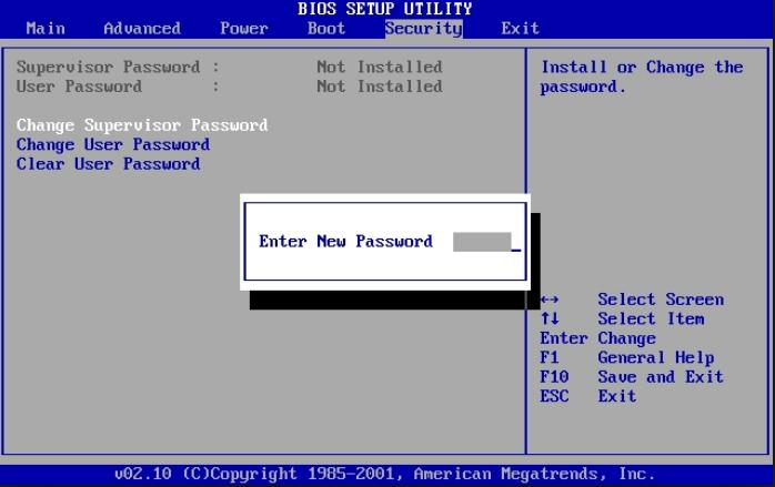 6 Ways To Reset or Remove BIOS Password For Acer, Dell, HP ...