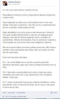 retirado do perfil do Facebook de Rafinha.