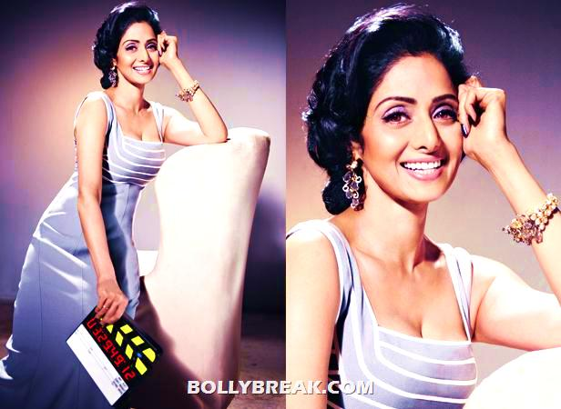 - (3) -  Sridevi's Photoshoot for Filmfare