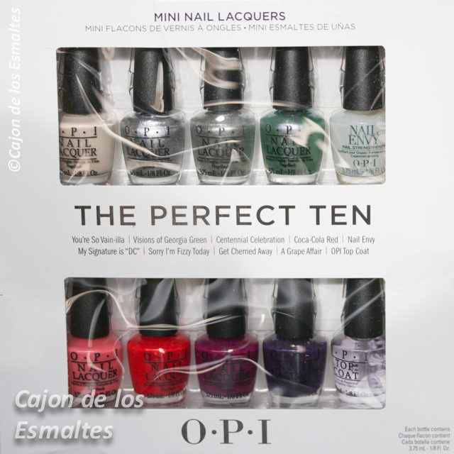 OPI Coca-Cola 100th Anniversary 2015 – Visions of Georgia Green ...