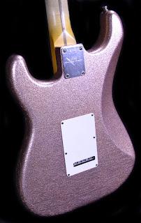 Fender Masterbuilt champagne sparkle Strat