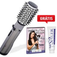 ESCOVA ROTATING AIR BRUSH CONAIR + DVD + CREME