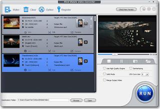 برنامج WinX Mobile Video Converter لتشغيل الفيديو علي نظام اندرويد