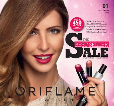 Catálogo 01 de 2013 da Oriflame