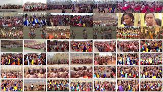 Танец тростника Умхланга. Свазиленд / Umhlanga Reed Dance Ceremony, Swaziland. 2012.