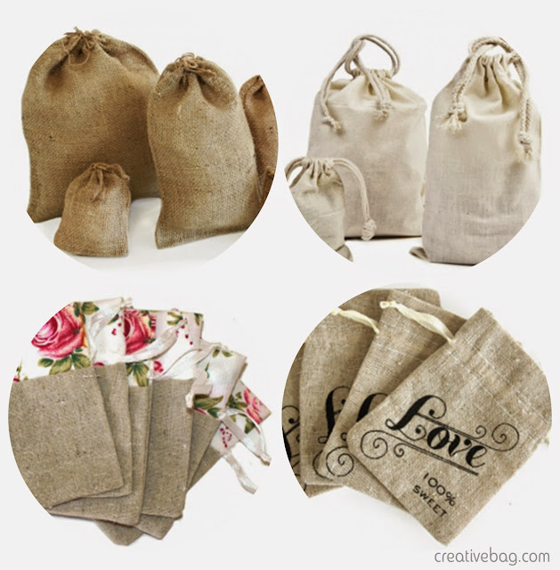 fabric favor bags | Creative Bag