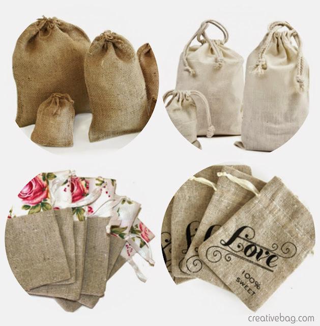 fabric favor bags | Creative Bag