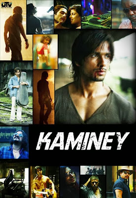 Poster Of Bollywood Movie Kaminey (2009) 300MB Compressed Small Size Pc Movie Free Download World4ufree.Org