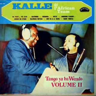 Kalle & l\'African Team -Tango ya ba Wendo Vol. IIafrican 1970