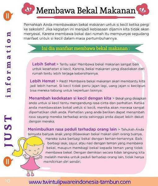 Just Info : Manfaat Membawa Bekal Makanan