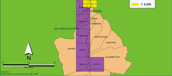 Marikina Fault Line Map - bottom