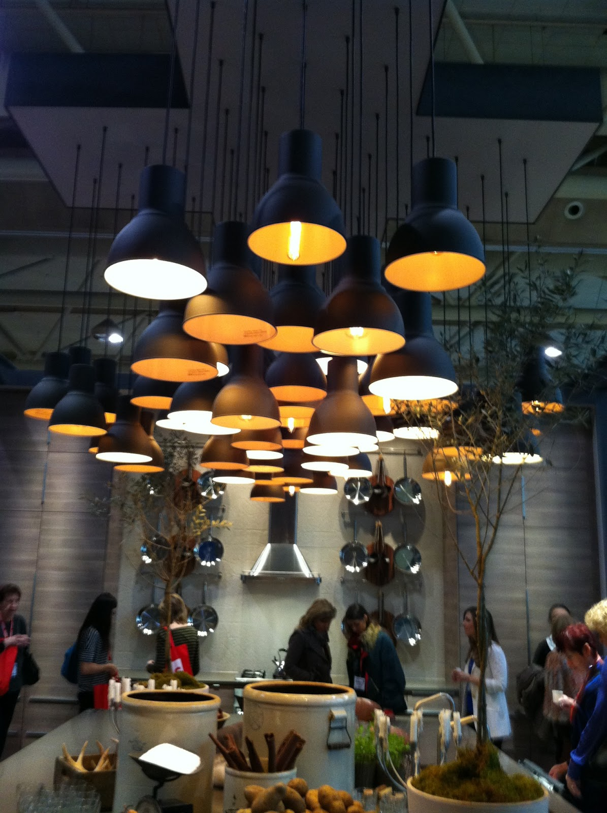 Lovely Shelter Ikea Hektar Pendant done right
