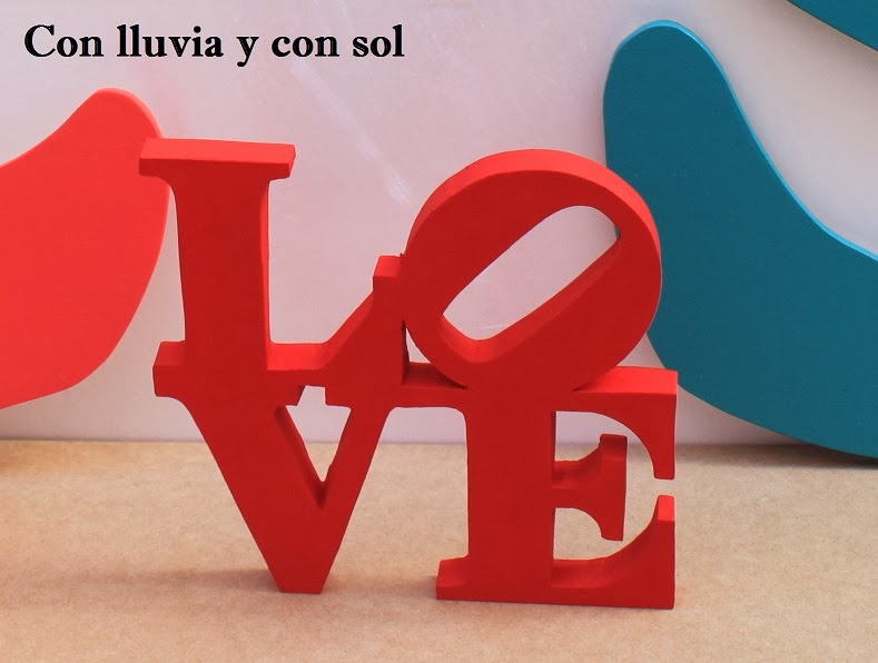 Decoracion Letras Love ~ Hacemos cualquier letra personalizada y adaptada a tus gustos elijes