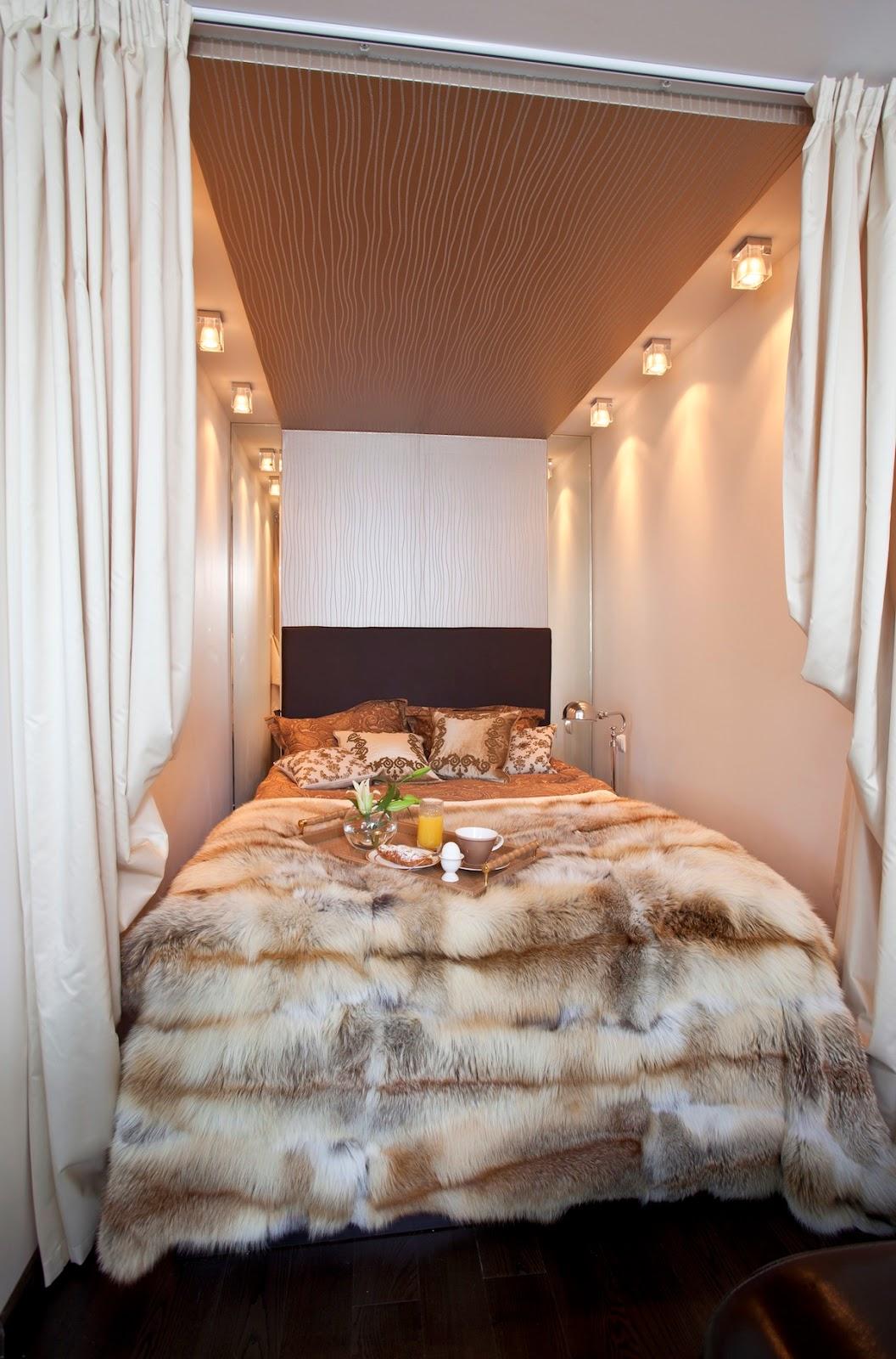 Дизайн однокомнатной квартиры: Интерьер квартиры-студии с ...: http://odnushka.blogspot.com/2013/02/blog-post.html