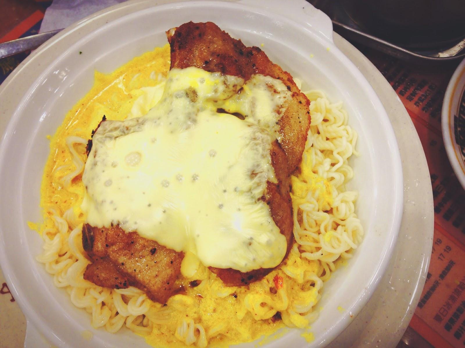 Kum Wah Cafe Hong Kong Curry Baked Pork Chop Noodles