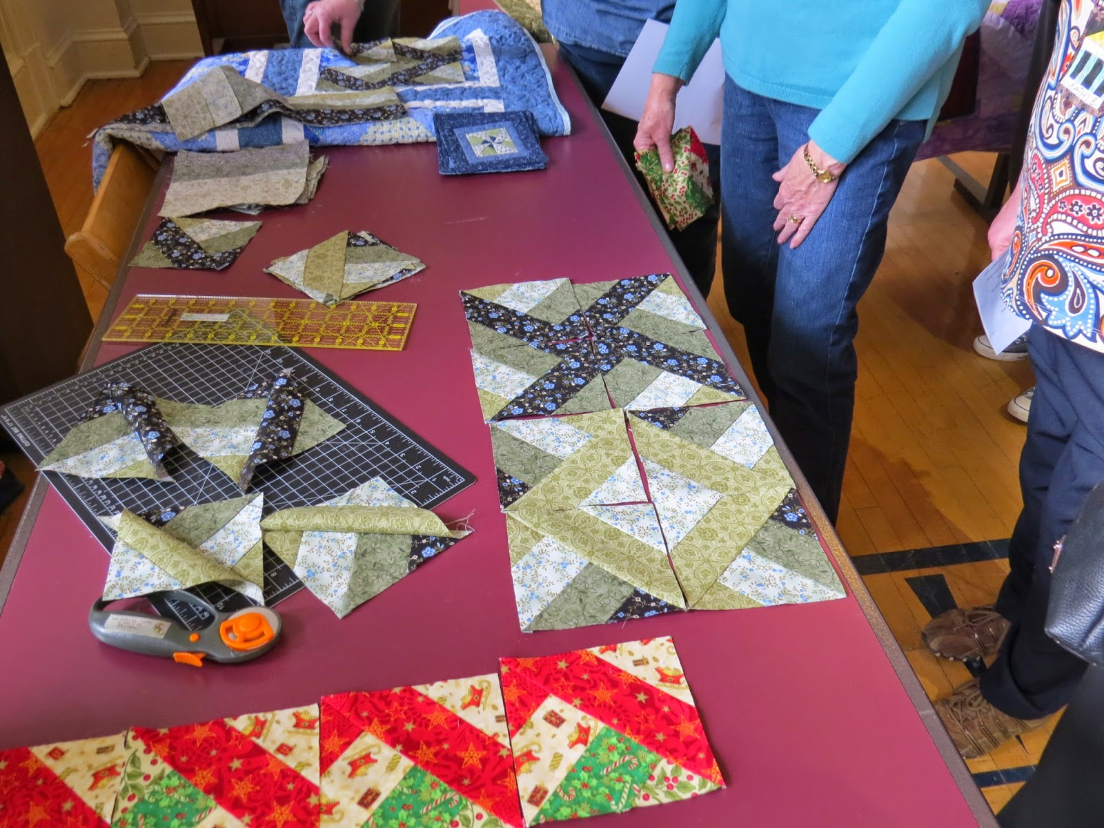 Quilt Guild Demo Ideas : Museum Quilt Guild: November was Demo Derby day!