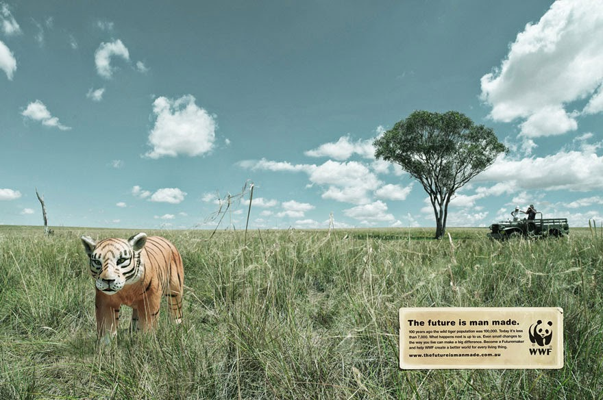 WWF: The Future Is Man Made - 33 Powerful Animal Ad Campaigns That Tell The Uncomfortable Truth