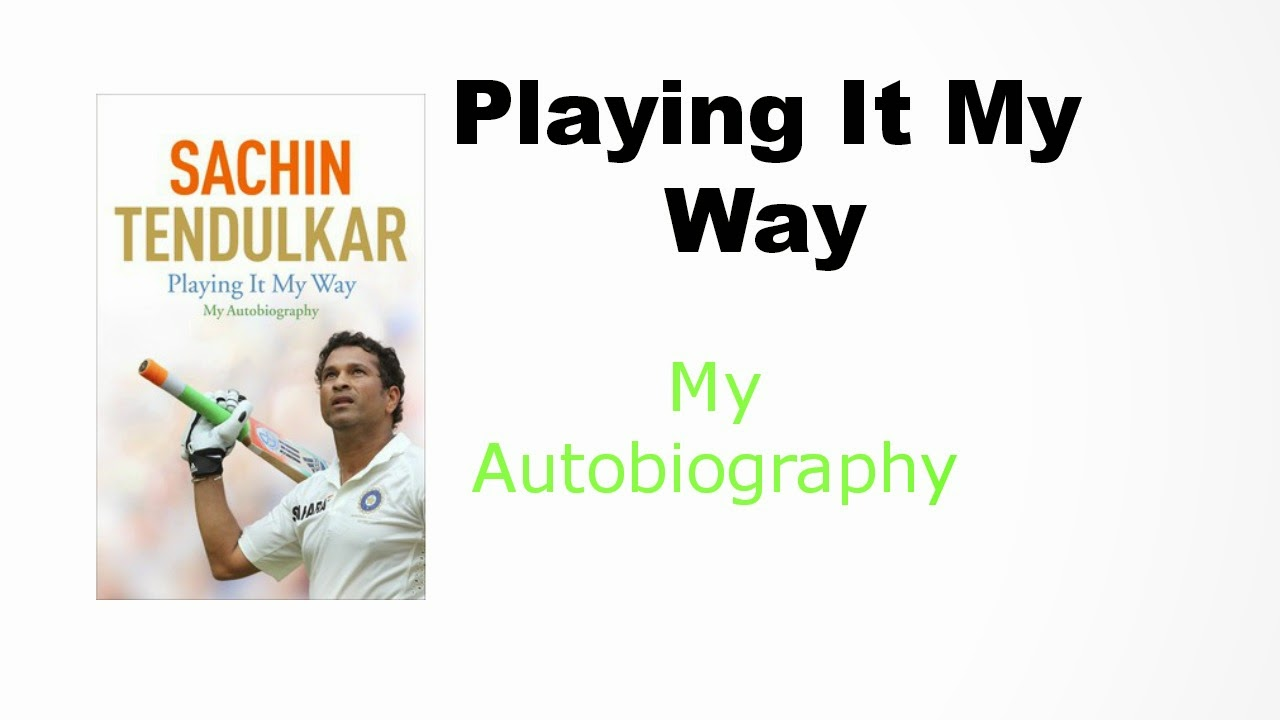 sachin tendulkar - writing an autobiography