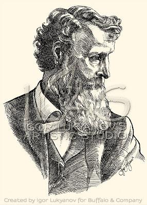 Portrait de John Muir