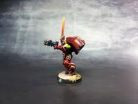 Blood Angels - Escuadra de Asalto - Warhammer 40000 - Sargento 2