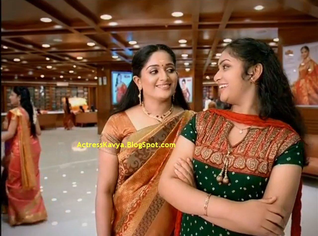 Kavya Madhavan in Saree Kavya Madhavan Latest Silk